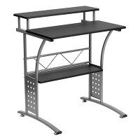 Offex Clifton Black Computer Desk [OF-NAN-CLIFTON-BK-GG]