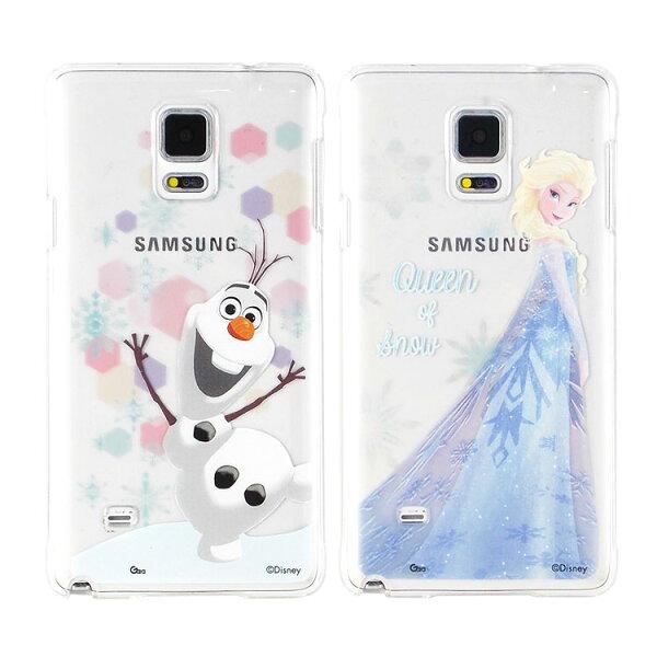 【Disney】SamsungGalaxyNote4彩繪透明保護硬殼