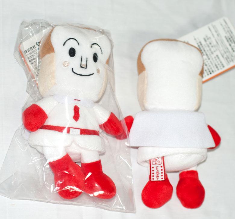 吐司麵包超人 玩偶 日本正版商品
