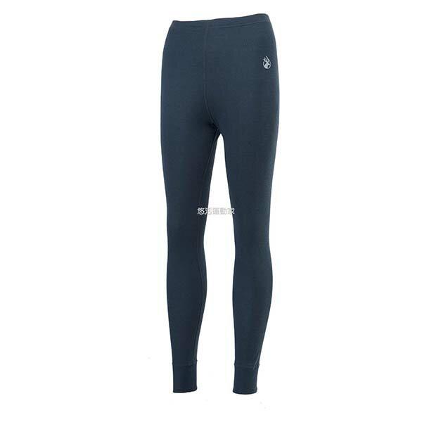 《台南悠活運動家》WILDLAND H2673-93 女Highest彈性圓領保暖褲 深灰色
