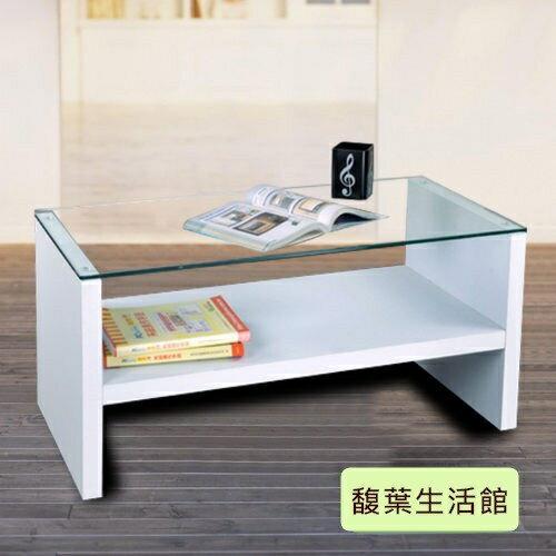 8mm強化防爆玻璃茶几桌 和室桌 電視櫃~ (貼防爆膜)【馥葉】【型號T095】
