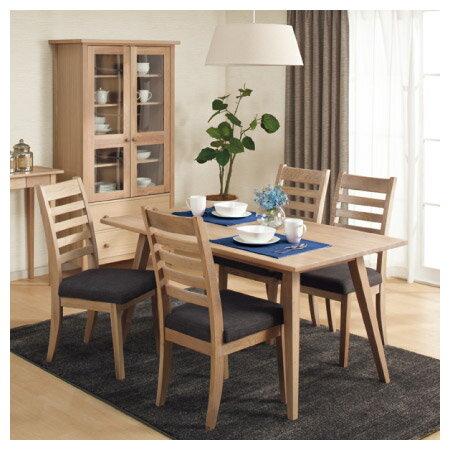 ◎(OUTLET)實木餐桌 ALAND140 白橡木 福利品 NITORI宜得利家居 6