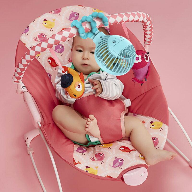 章魚腳風扇 靜音風扇 USB充電風扇 八爪魚變形嬰兒車小風扇 折疊迷你掛鉤懸掛風扇 推車風扇 桌面台式風扇 8