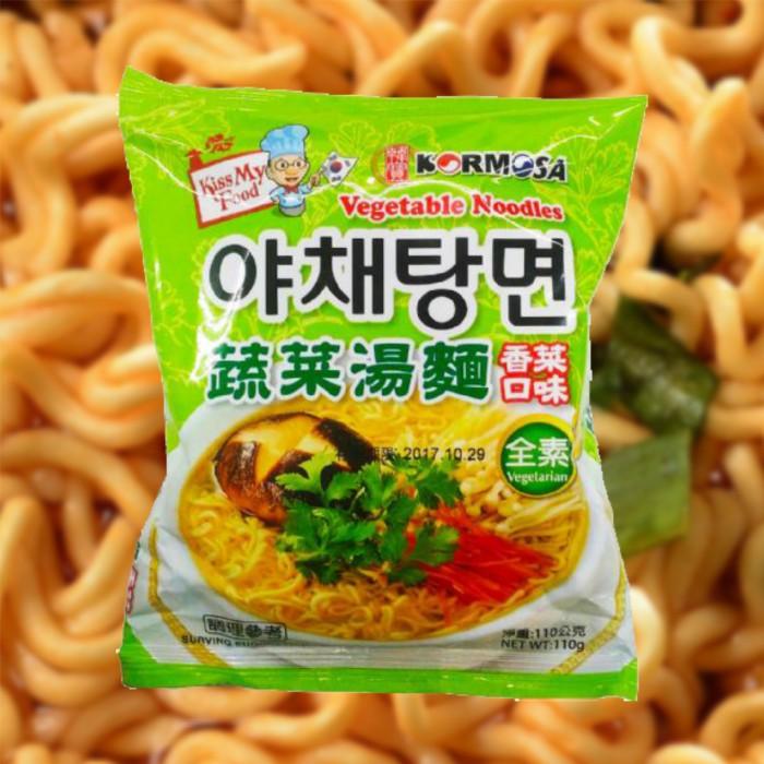 【KTmiss】八道Paldo KORMOSA蔬菜湯麵(香菜口味) 韓國進口泡麵 韓式料理 韓系 韓劇熱門美食 拉麵 非一蘭拉麵 方便麵 杯麵