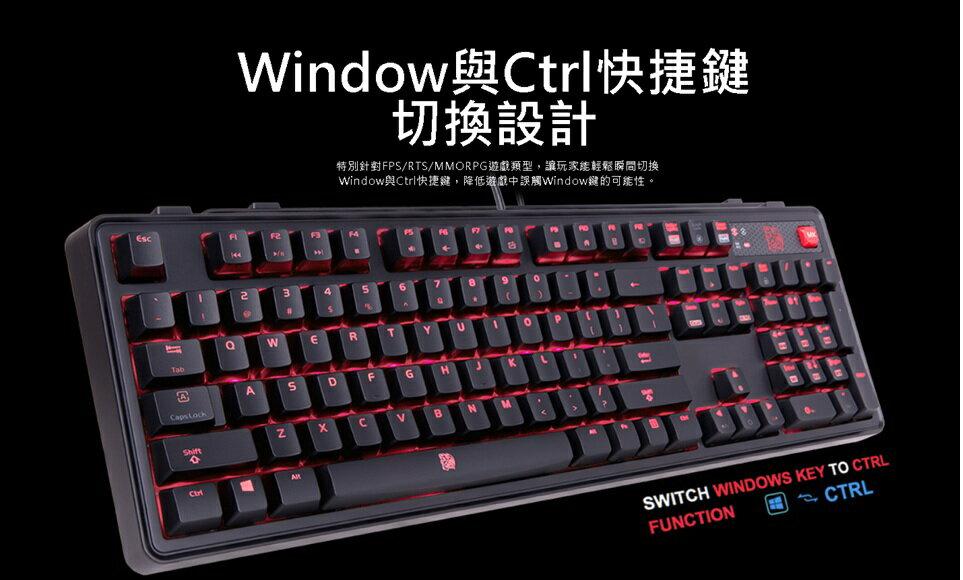鍵盤 Tt eSPORTS 拓荒者MEKA PRO青軸機械式電競鍵盤 青軸   電競鍵盤 機械式鍵盤 曜越 6