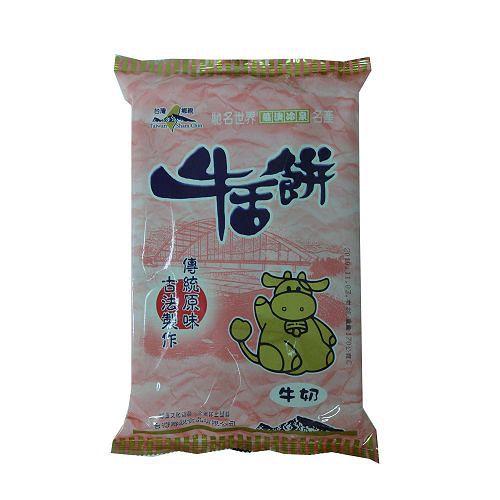 宜蘭台灣鄉親牛舌餅-牛奶口味170g【愛買】