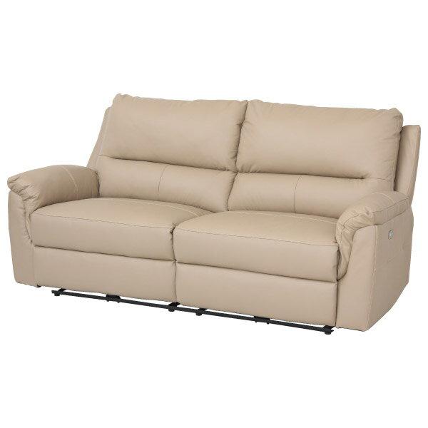 ◎半皮3人用電動可躺式沙發 BEAZEL MO NITORI宜得利家居 1