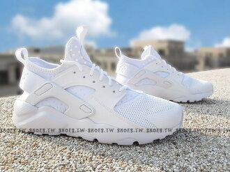 Shoestw【847569-100】NIKE AIR HUARACHE RUN ULTRA GS 白色 武士鞋 女生