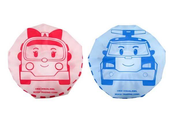 德芳保健藥妝:POLI波力浴帽(水.粉)【德芳保健藥妝】款式隨機出貨
