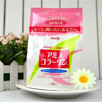 《12/21 12:00 整點特賣》Meiji 日本明治膠原蛋白粉補充包袋裝214g 2018/12 日本熱銷NO.1 日本平行輸入 PG美妝