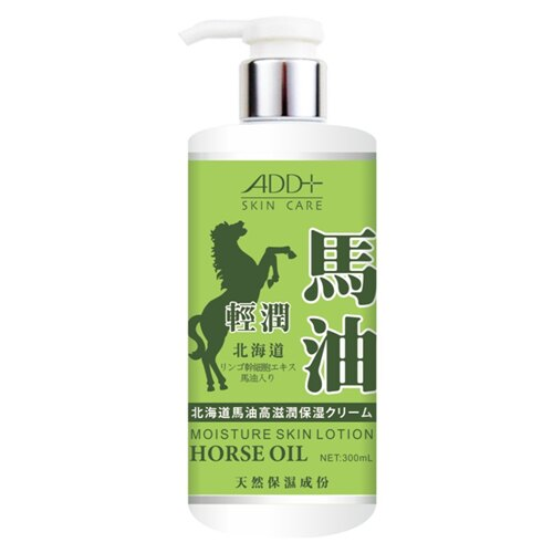 ADD+ 舒妃北海道馬油身體乳(輕潤)300ml【合康連鎖藥局】