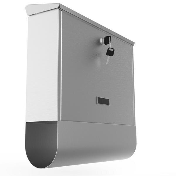 Stainless Steel Mailbox Wall Mount Letterbox Large Size 2
