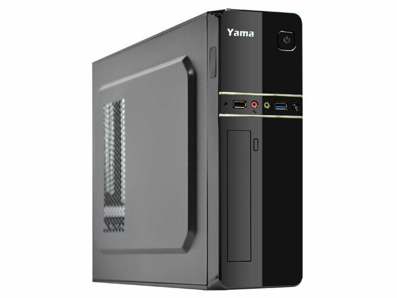 【迪特軍3C】YAMA 雅瑪 水仙 USB3.0 電腦小機殼 前置USB3.0 內含400W上置電源 附腳架