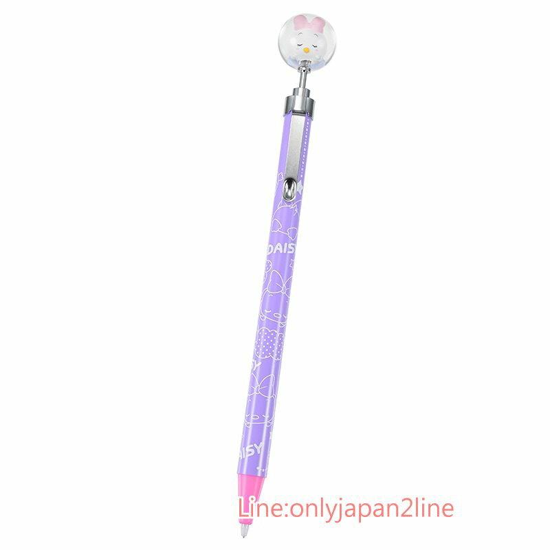 【真愛日本】17031300024 日製專賣店水晶球筆-睡黛西+BAC 迪士尼專賣店限定 自動鉛筆 文具 日本製