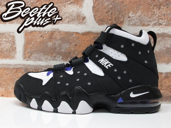 女生 BEETLE NIKE AIR MAX 2 CB'94 BARKLEY GD 黑紫 巴克利 309560-007 0
