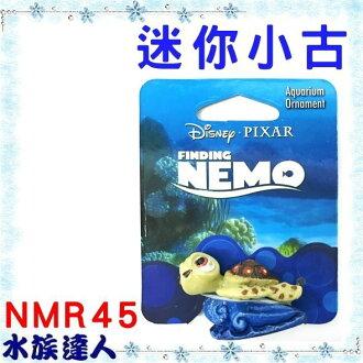 【水族達人】美國Disney迪士尼海底總動員《迷你小古NMR45》PENN-PLAX 龐貝 裝飾品 公仔 授權販售