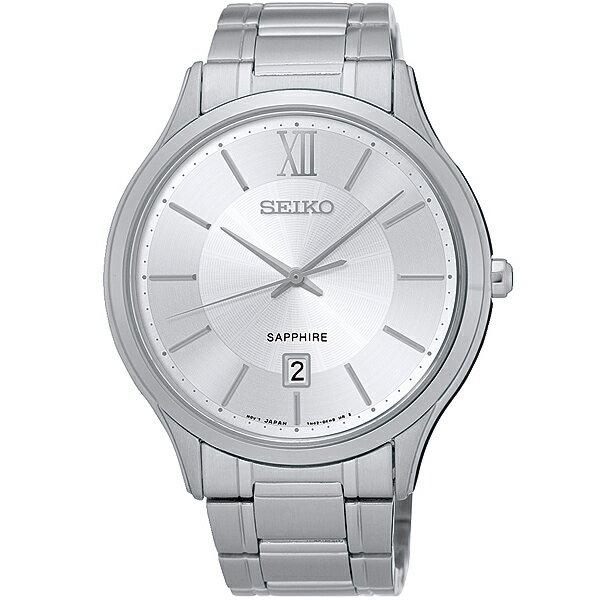 Seiko 7N42-0GG0S (SGEH51P1)古典時尚腕錶/白面42mm