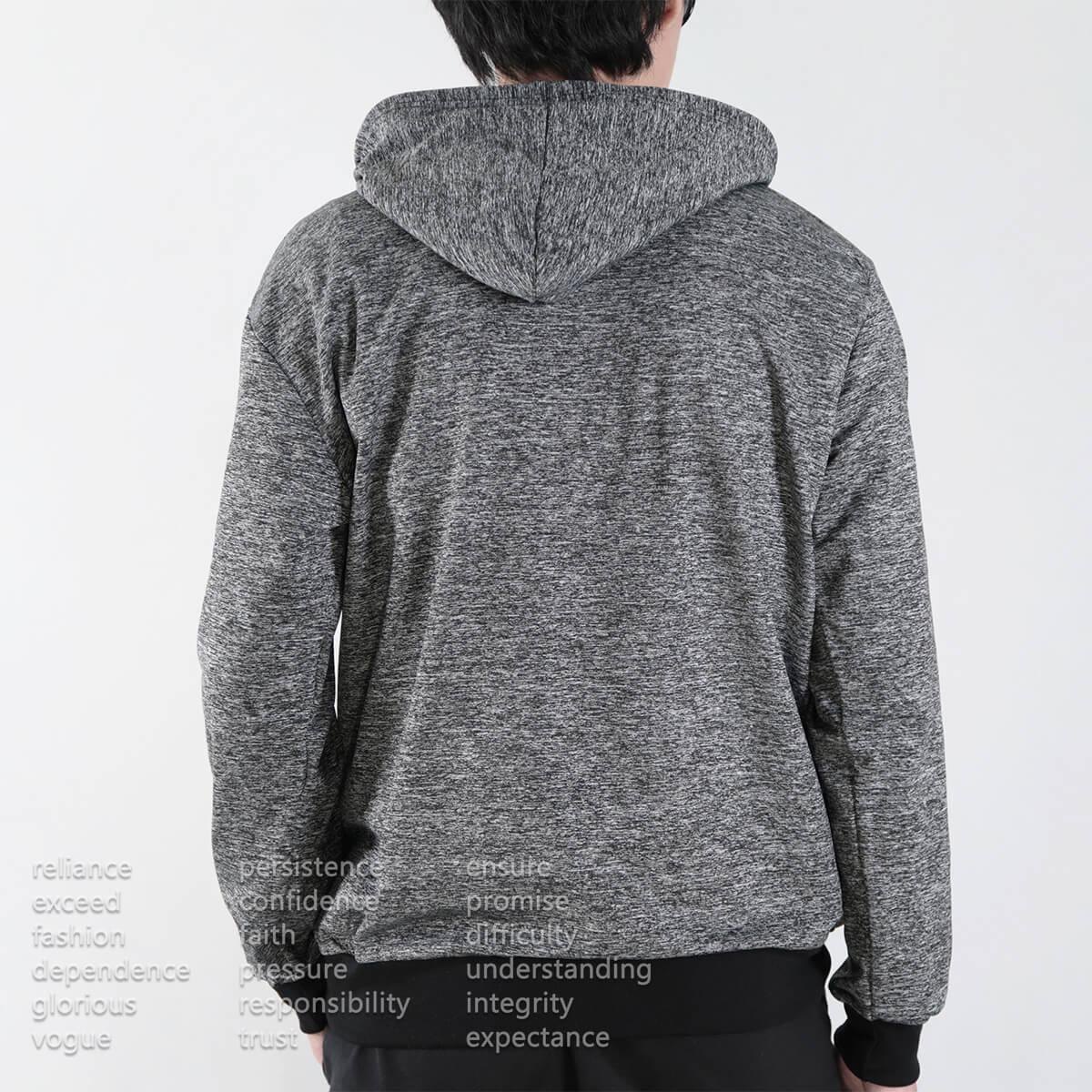 微刷毛紋理保暖帽T 連帽T恤 休閒連帽外套 長袖T恤 帽子T恤 連帽上衣 長袖上衣 休閒長TEE 灰色T恤 黑色T恤 LIGHT FLEECE LINED WARM HOODIE T-shirt (312-6071-21)黑色、(312-6071-22)灰色 XL 單一尺寸(胸圍46~48英吋) [實體店面保障] sun-e 9