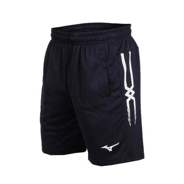 【登瑞體育】MIZUNO男款羽球針織短褲_72TB8A0114