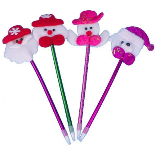 聖誕派對禮品-聖誕可愛造型圓珠筆 聖誕禮物 大人小孩都喜歡