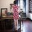 東方美人旗袍唐裝專賣店 ☆°((超低價690元))°☆272(兩色)。優雅美麗蕾絲印花改良式時尚顯瘦日常短旗袍連身裙洋裝 6