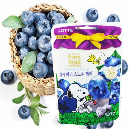 [敵富朗超市]LOTTE田園軟糖-藍莓(賞味期限:2018.01.23)