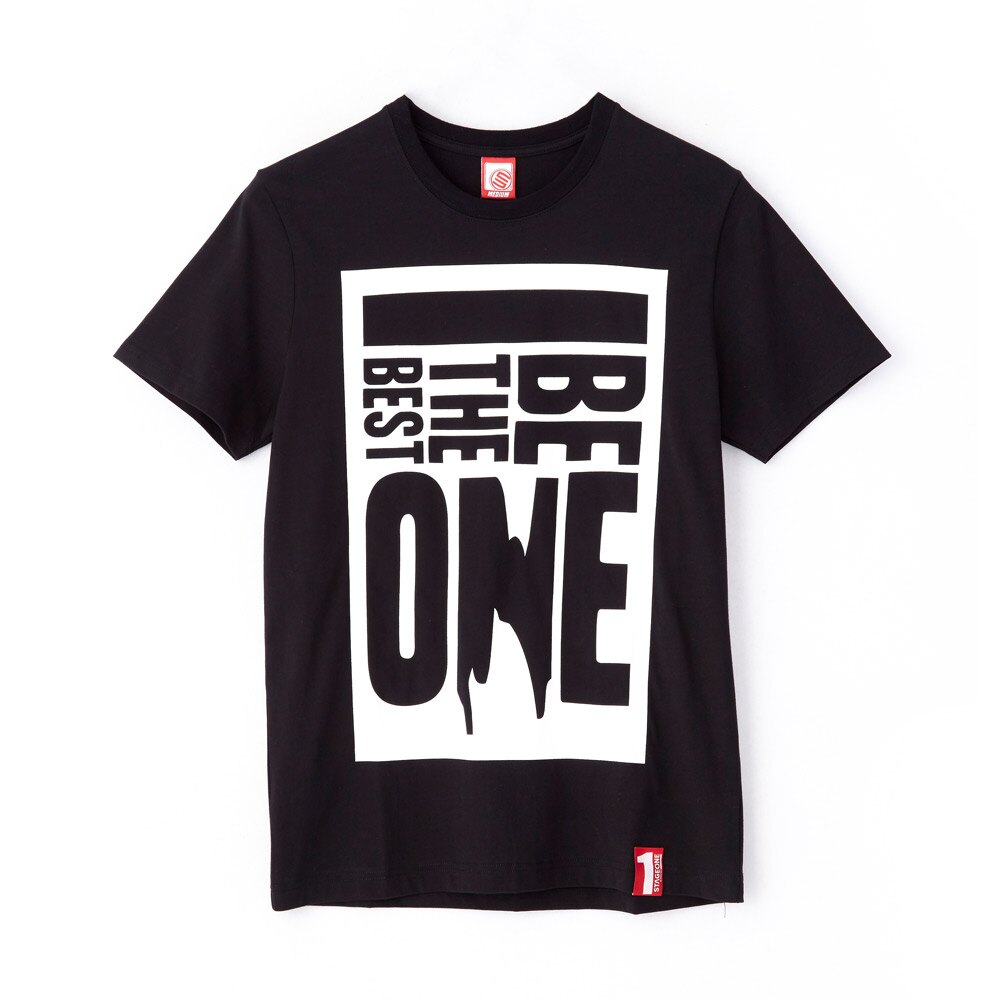 STAGEONE BE THE BEST ONE TEE 黑色 白色 兩色 2
