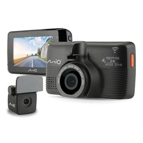 送64G卡+手機支架『 Mio MiVue 798+A40後鏡頭 = 798D 』2K畫質/WiFi星光級Sony Sensor+前後雙鏡頭行車記錄器+GPS測速器/紀錄器/145度