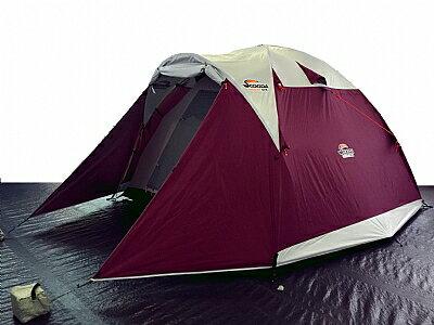 【露營趣】中和 贈鋁箔墊防水地布 速可搭 大溪地 6~8人銀膠帳篷 露營帳篷 六人帳 八人帳 家庭帳篷