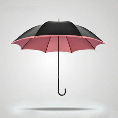 遮陽傘抗UV防曬晴雨傘-時尚簡約防水直柄戶外用品2色73fa29【獨家進口】【米蘭精品】
