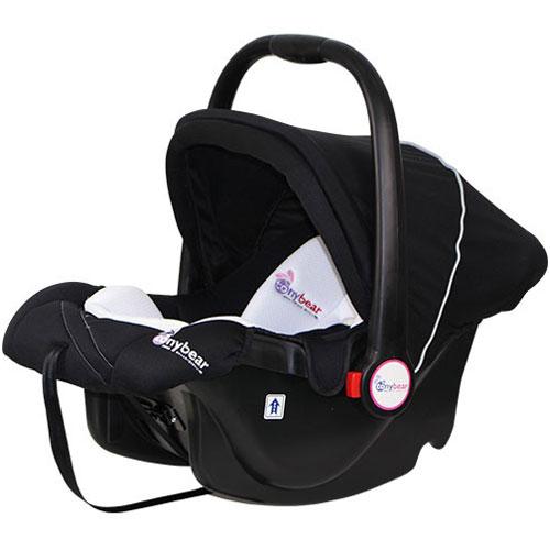tonybear 嬰兒提籃汽車座椅-黑色【悅兒園婦幼生活館】