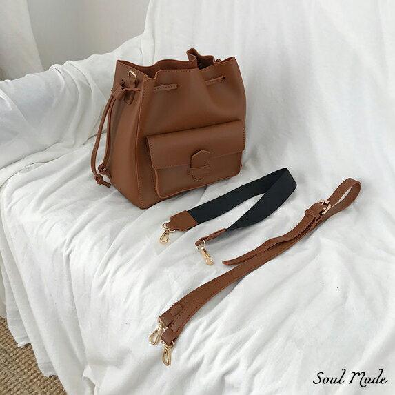 Soul Made -大口袋束口包 2色 4