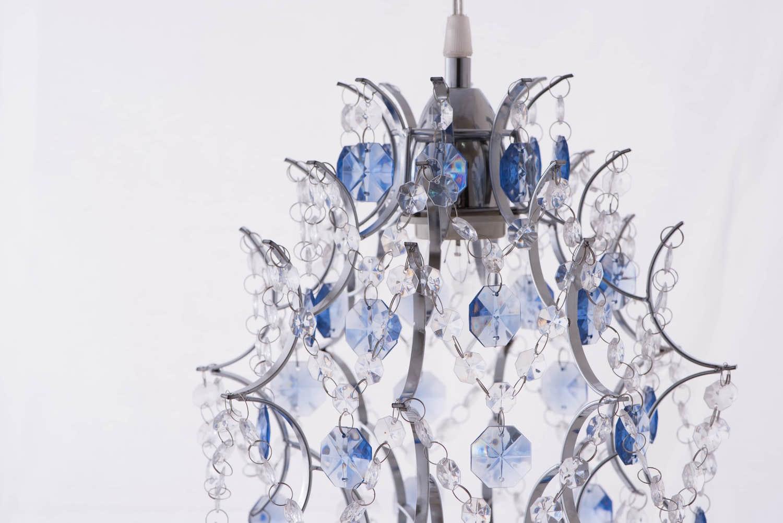 優雅鍍鉻架壓克力珠吊燈-BNL00044 0