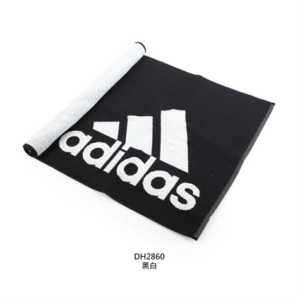 ADIDAS 運動毛巾 (慢跑 路跑 游泳 戲水 浴巾 愛迪達【DH286】≡排汗專家≡