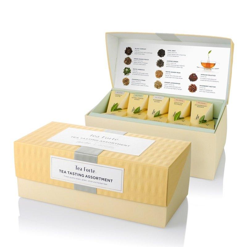 Tea Forte 20入金字塔型絲質茶包 - 饗茶集錦 Presentation Box - Tea Tasting Assortment 2