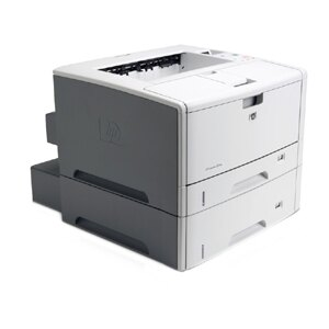 HP LaserJet 5200DTN Laser Printer - Monochrome - 1200 x 1200 dpi Print - Plain Paper Print - Desktop - 35 ppm Mono Print - Executive, Legal, Letter, Letter-R, Statement, Monarch Envelope, DL Envelope, Envelope No. 10, ... - 600 sheets Standard Input Capac 4
