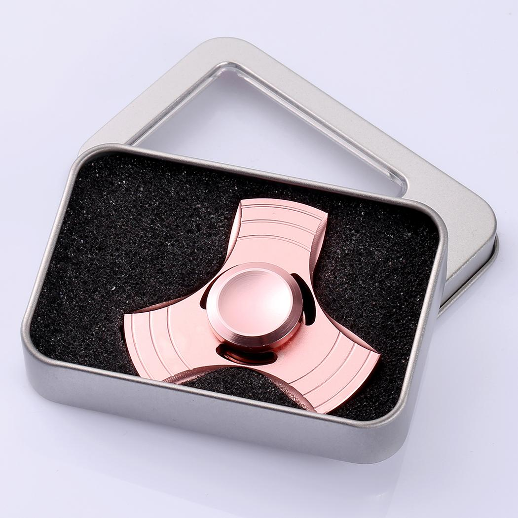 Glowing Hand Spinner 360 Tri Fidget Desk Stress Reducer EDC Focus Toy 3