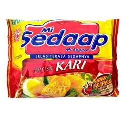 印尼喜達 咖哩風味湯麵 73g