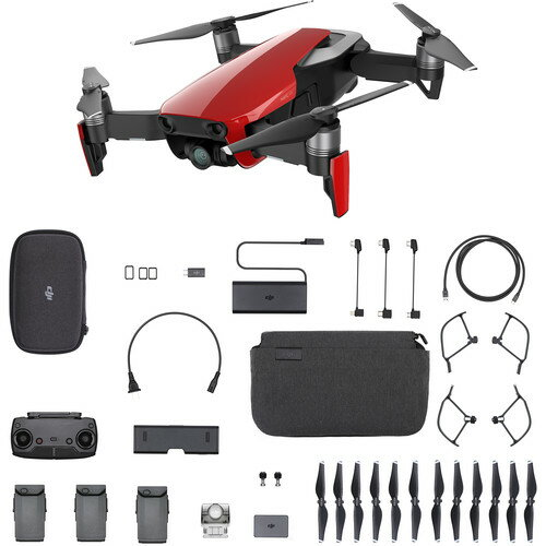 DJI Mavic Air Fly More Combo (Flame Red) CP. PT.00000174.01 999907e3d173b1cd416fd4677b082ed4