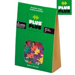 【 ++PLUS-PLUS 加加積木 】MINI 小顆粒-彩虹系列 300 PCS (袋裝)