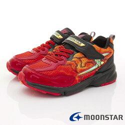 日本月星頂級競速童鞋 閃電3E運動系列 SSJ8612紅(中大童段)