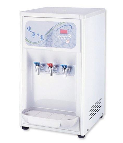 HM-6991桌上型冰冷熱三溫飲水機/桌上型飲水機/自動補水機(內置RO過濾系統)