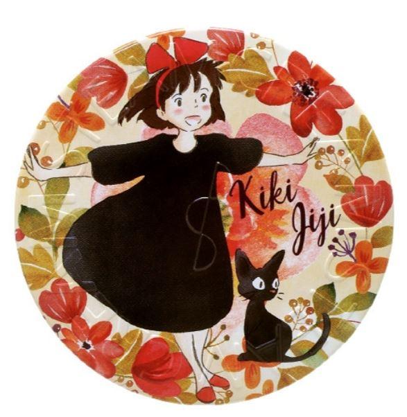 【真愛日本】17111700032 日本限定蒸氣乳霜-KIKI與JIJI花 宮崎駿 魔女宅急便黑貓奇奇貓 保濕乳液