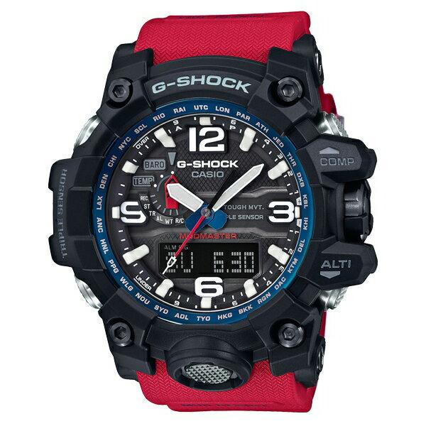 CASIO G-SHOCK GWG-1000RD-4A陸海空防泥概念電波腕錶/56.1mm