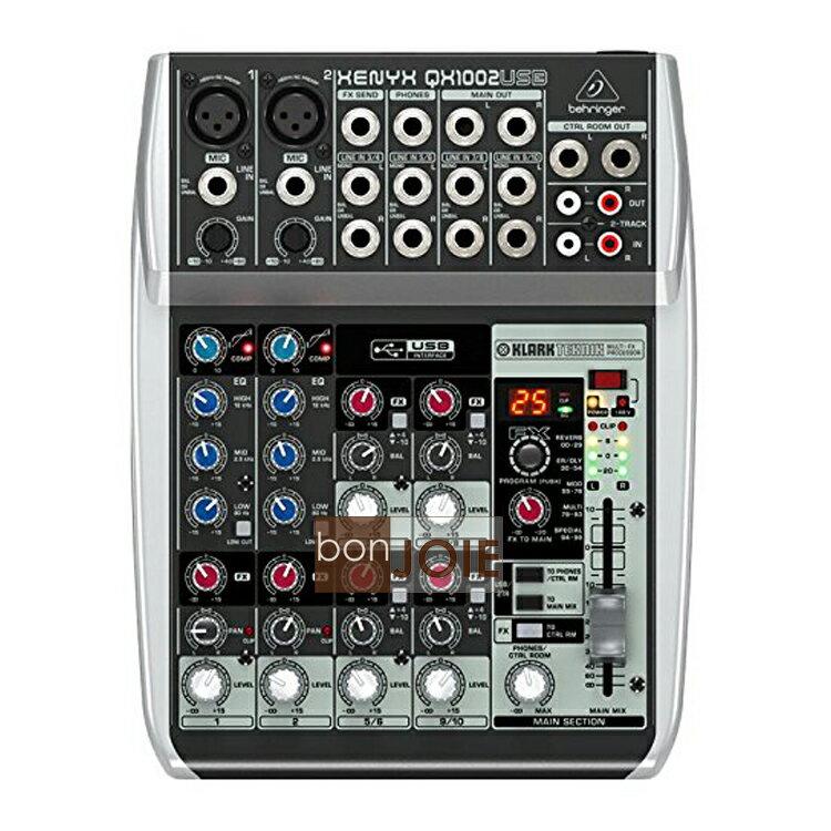 ::bonJOIE:: 美國進口 Behringer Xenyx QX1002USB Audio Mixer 混音器 (全新盒裝) USB介面 德國耳朵牌 QX1002 USB 介面