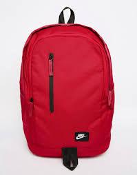 Nike ALL ACCESS SOLEDAY  背包 後背包 雙肩 休閒 紅 【運動世界】BA4857-620