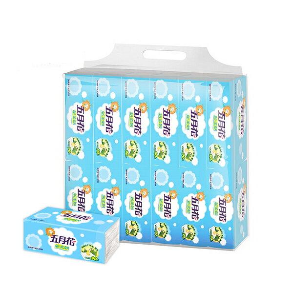 五月花 新柔韌抽取式衛生紙130抽72包 / 箱  平均$0.09 / 抽 廠商直送 免運費 樂天雙11 0