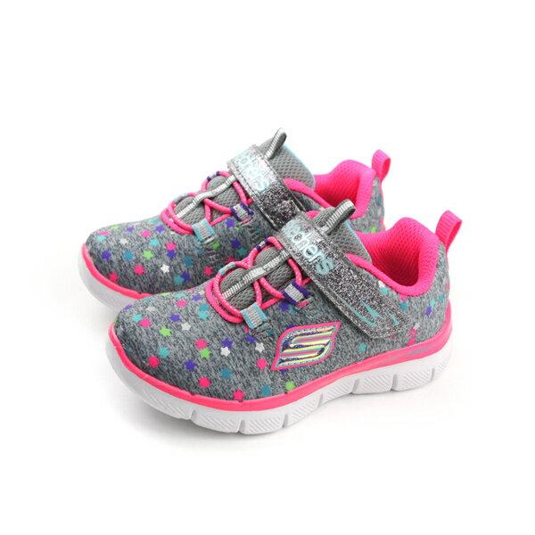 HUMAN PEACE:SKECHERS運動鞋魔鬼氈童鞋小童灰色81672NGYMTno770