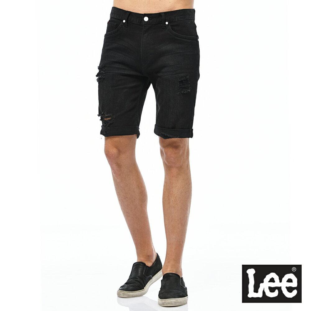 ❤ 短褲$990❤ Lee 牛仔短褲-男款-黑 0