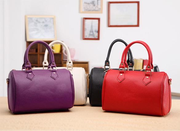 Synthetic Leather Handbag 0